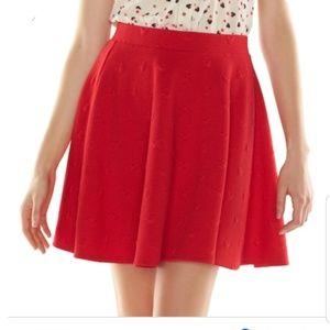 Lauren Conrad X Disney Skater Skirt